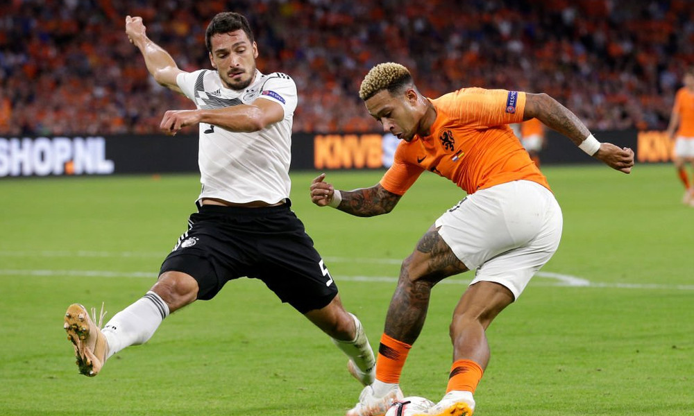 UEFA Nations League: «Οράνιε» για φίλημα (videos+photos)