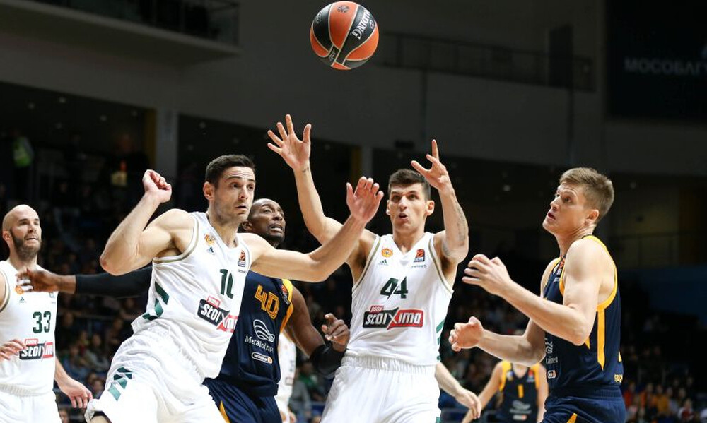 Euroleague: Η βαθμολογία μετά την ήττα του Παναθηναϊκού στη Μόσχα